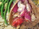 Life at the Circle: Roasted Vegetable Tacos